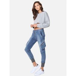 James Jeans Boyfriend Cargo Jeans in Venice 29